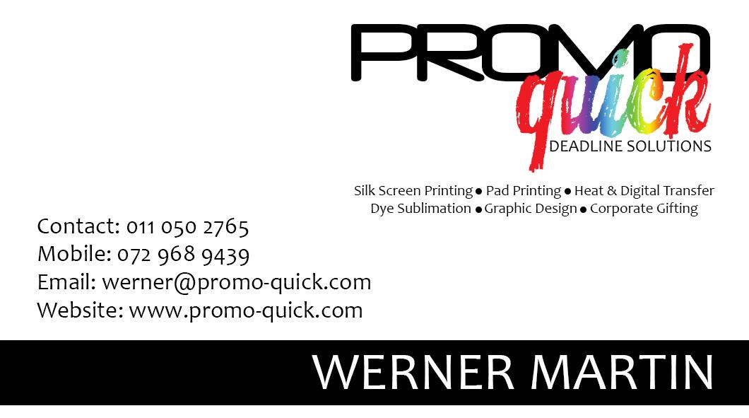 Promo Quick Business Card - Chizzel\'d Designs