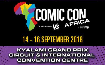Comic Con Africa 2018!